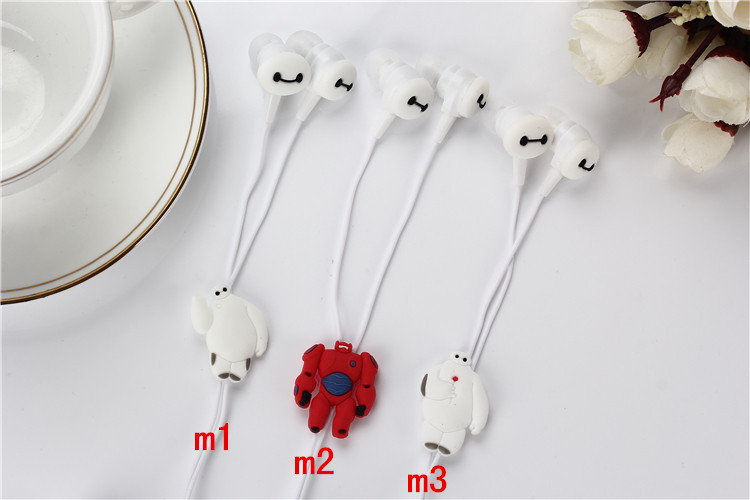 2015 Fashion Cartoon hero in-ear wired 3.5mm earphone headphone Headset for iphone MP3 MP4 MP5 PSP(China (Mainland))