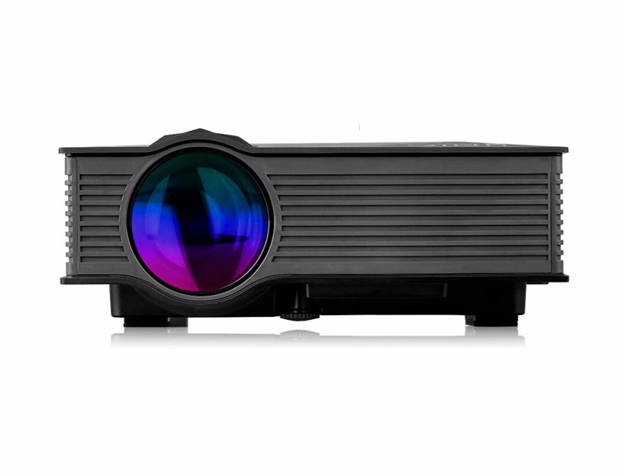 Unic uc46 mini projector 1200 lumens support full hd 1080p for 1080p mini projector reviews