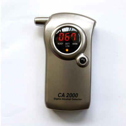 Alcohol tester blowing type measuring drunk driving high accuracy portable breath alcohol testing instruments CA2000 formula(China (Mainland))
