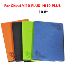 Buy VI10 hi10 PLUS PU Leather Case Cover Ultra-Slim Flower Print Flip 10.8 Protective Stand Chuwi VI10 PLUS/HI10 PLUS Smart case for $13.90 in AliExpress store