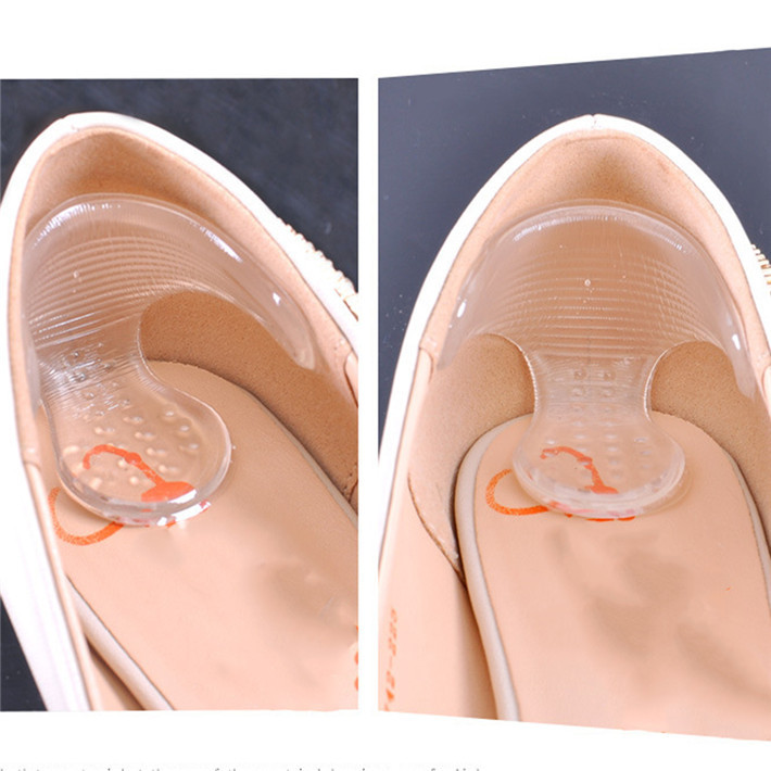 Гаджет  Rearfoot Invisible Silicone Stickers Transparent Slip-resistant Foot Shoes Stickers High Heel Shoe Pad Insoles Foot Care JJ250 None Обувь