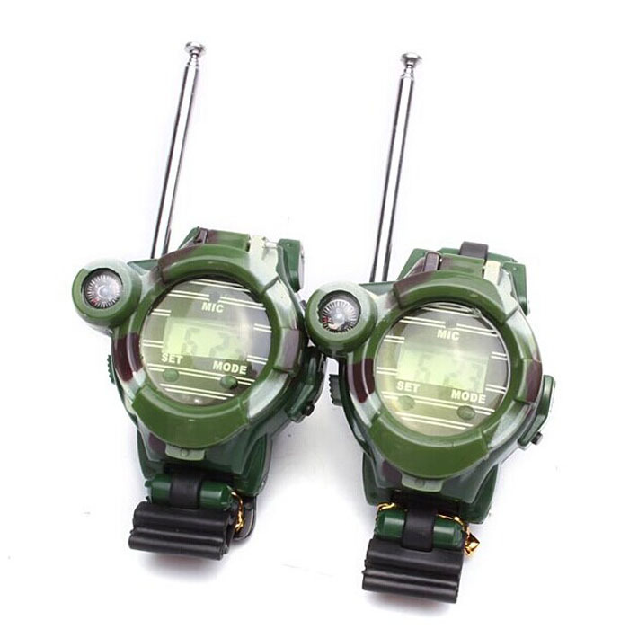 Scolour 2PCS Children Toy Walkie Talkie Child Watches Interphone Outdoor Freeshipping(China (Mainland))