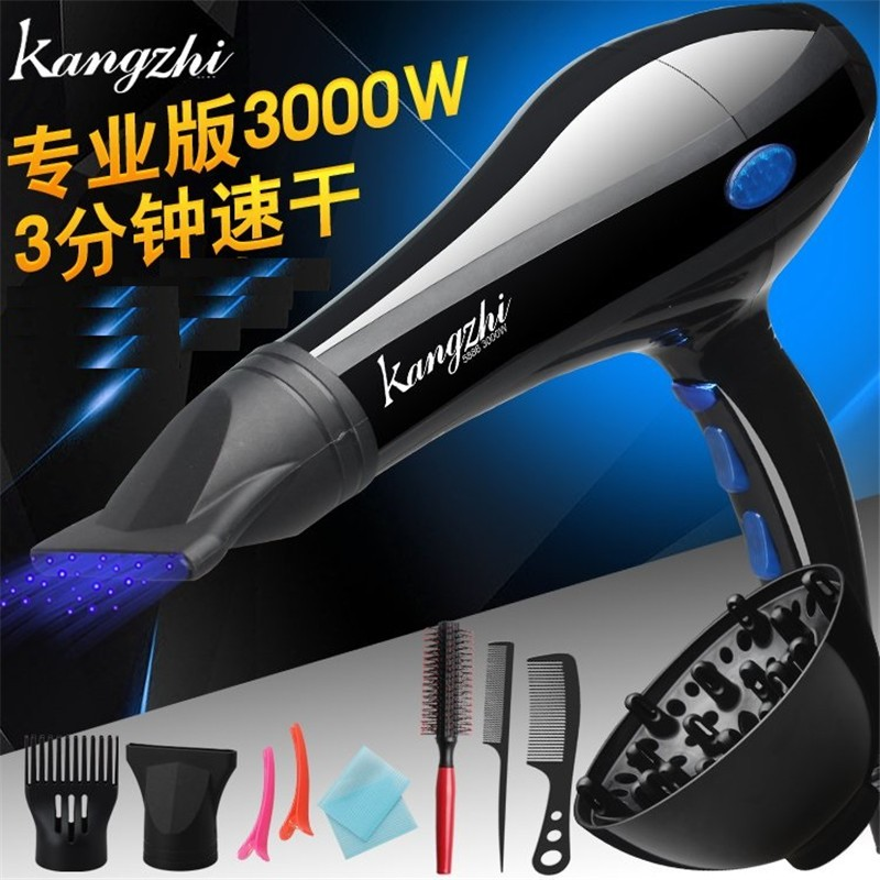 KZ5886-2,Free shipping,Hair Dryer Professional Blow Hair dryer Hot And Cold Wind 3000W Styling Tools For Salons With EU Pulg