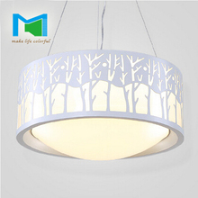 KM Cape Province] led bedroom light simple circular living room lamp dining room lamp(China (Mainland))