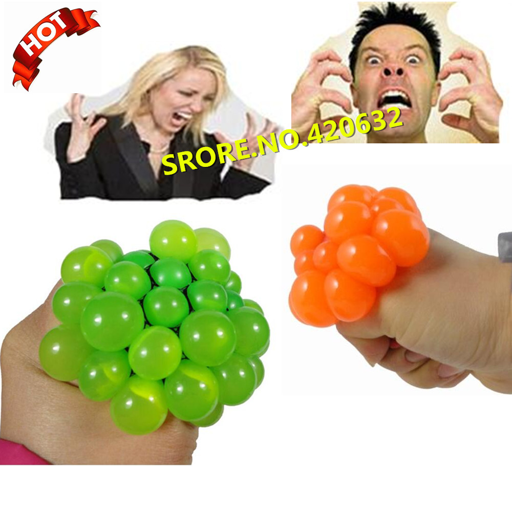 Hot Sale Funny Tricky Toy Lizunov Fun Toys Creative ToyS Ease Pressure Vent Grape Ball Get Free Sticker Stickers In Stock V19(China (Mainland))