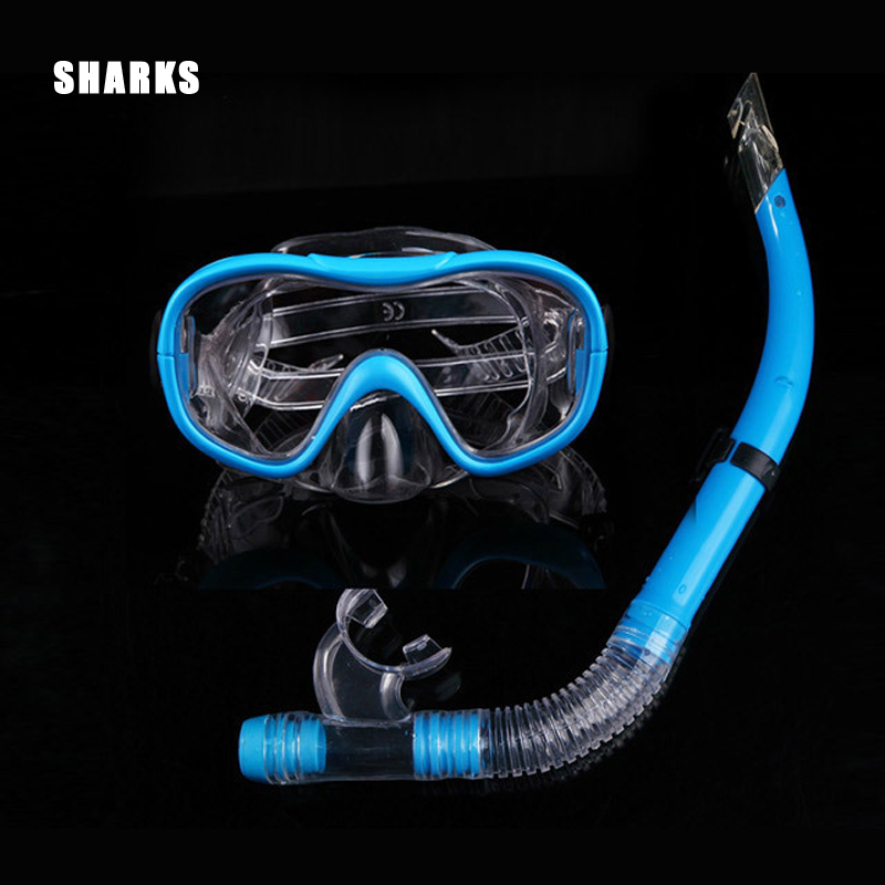 Professional 2IN1 Swimming Diving regulator Protective Goggle easybreath Breathing Tube Snorkeling goggles Mask Set for diving
