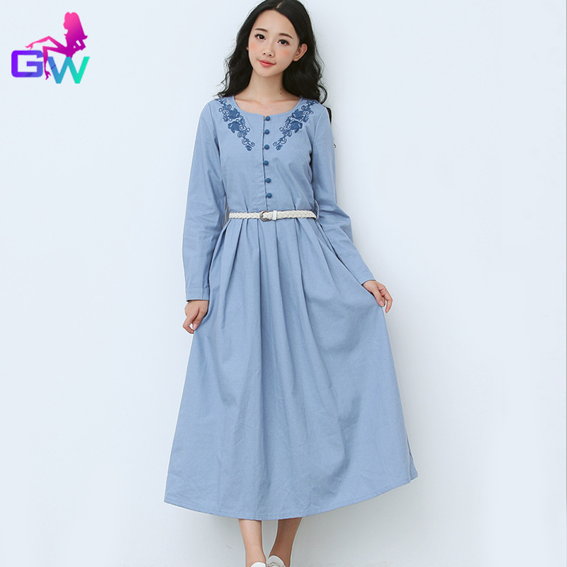 light blue long dress casual wwwpixsharkcom images