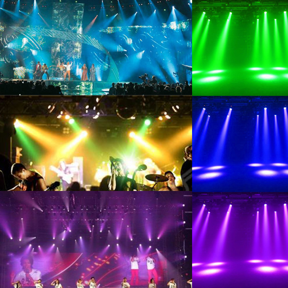 HOT 70W 7 LEDs LED Stage Effect Beam Wash Lightig Moving Head Light RGBW 4 in 1 DMX512 8/13 Channel for DJ Disco Party(China (Mainland))
