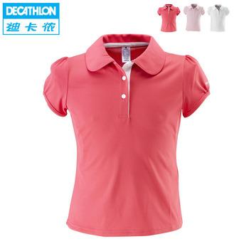 iZone tennis ball girl female child sports polo shirt sports t-shirt artengo polo 100 g SENT ON 18th  Feb