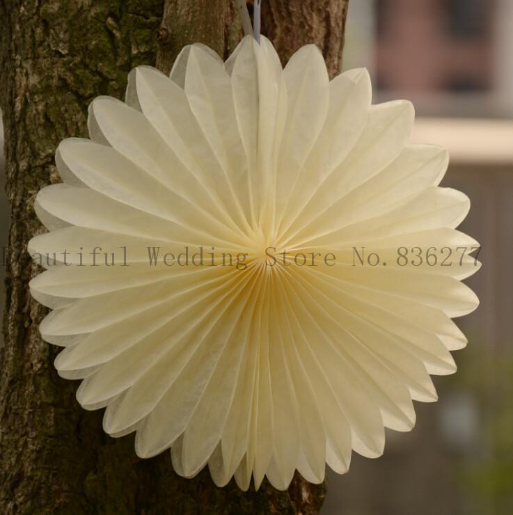 2014 New Free Shipping Christmas Paper Fan Lantern Wedding Decorations, Holiday Items 20cm / 10pcs / Lot(China (Mainland))