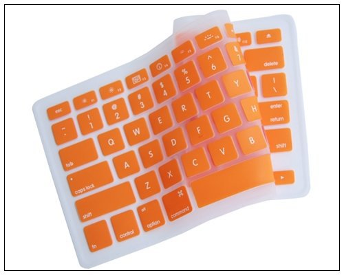 """5pcs Silicone Laptop Keyboard Cover Screen Protector Skin Protective Film 15"""" for Macbook Glossy for Apple MacBook Mac 13""""-15""""(China (Mainland))"""