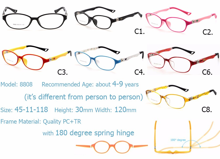 Wholesale- IVSTA 180 Spring TR Optical Eyeglasses Kids Frames Rubber ...