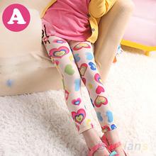 New Baby Kids Girls Leggings Pants Underwear Pattern Printed Trousers 3 12 Years for girls 02UU