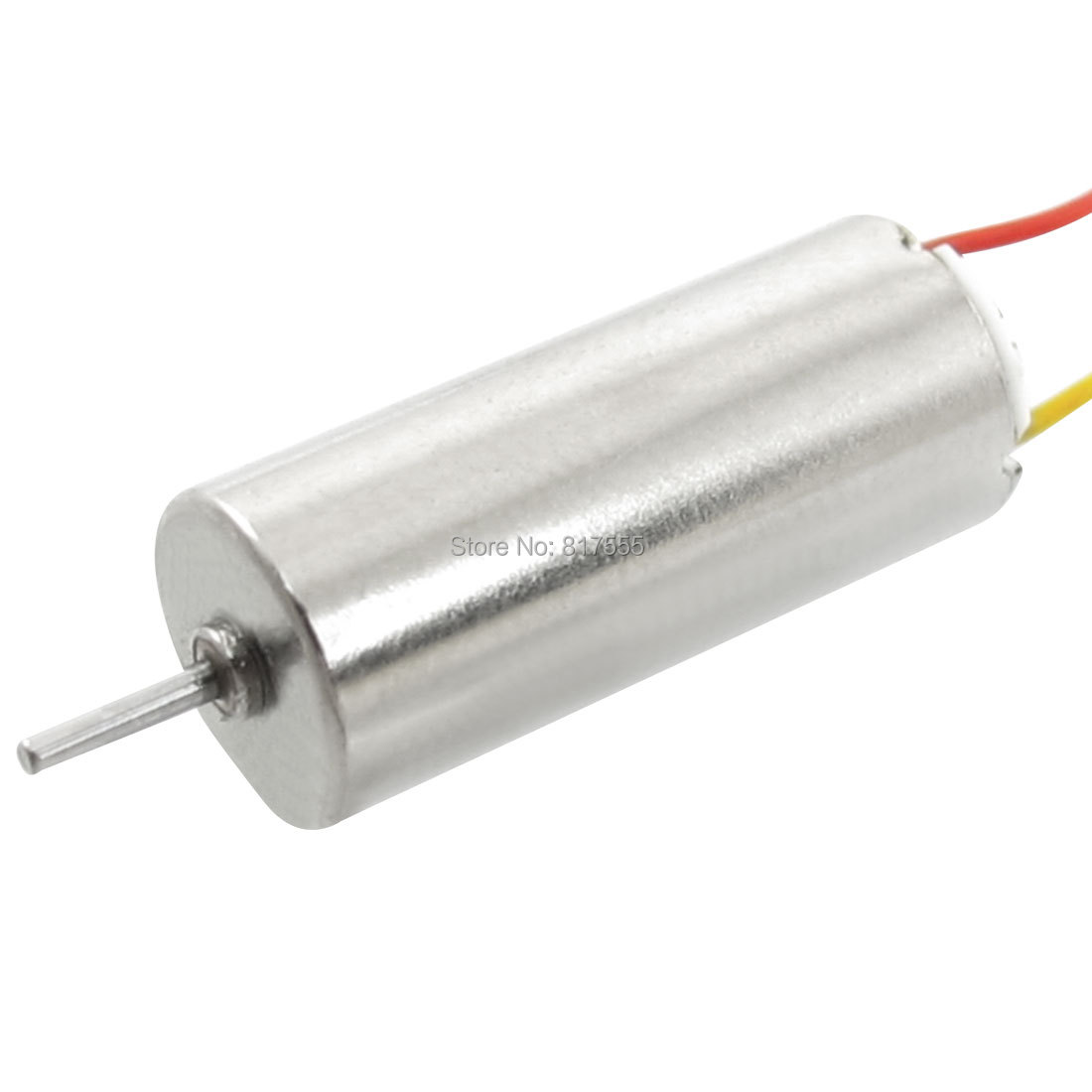 Shaft Diameter 0.8mm DC 3V 60-70mA 20000-40000RPM Electric Coreless Motor 7mm x 16mm (D*H) for RC Helicopter Toy Discount 50(China (Mainland))