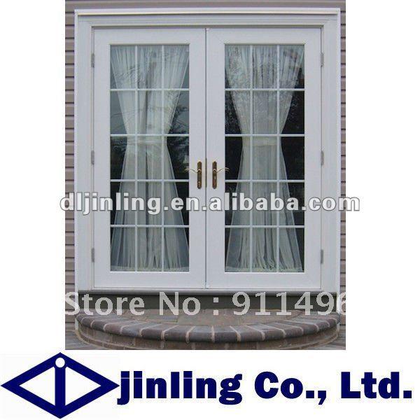 Italia estilo puerta abatible de aluminio exterior de for Puertas de metal para exterior
