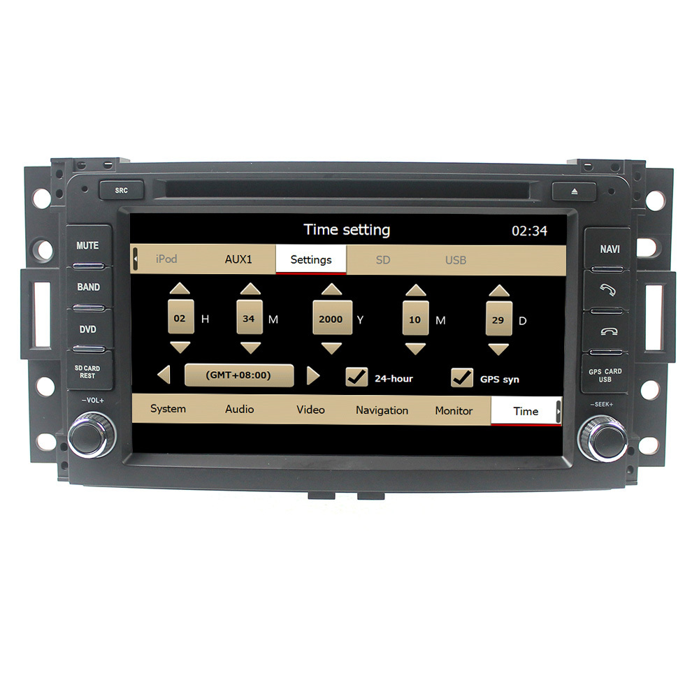 For 7 inch touch screen Hummer H3 car radio gps with IPOD/Bluetooth/MP5/RDS/FM/optional TMC/TV/rear camera/canbus/ACC/OGG/RA/WAV(China (Mainland))