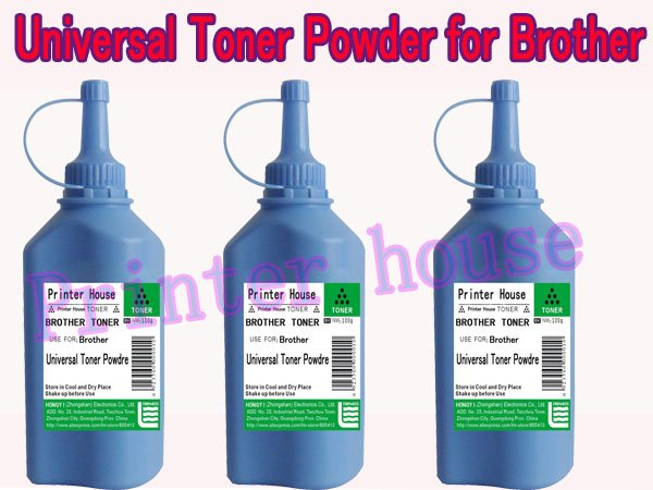 OFF 70% Freight Universal toner powder for Brother Toner Cartridge (100g/bottle )(China (Mainland))