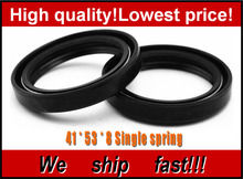 Motorcycle Front Fork Damper oil seal for SUZUKI GSF400 Bandit 400 1991 1992 1993 Shock absorber oil seal