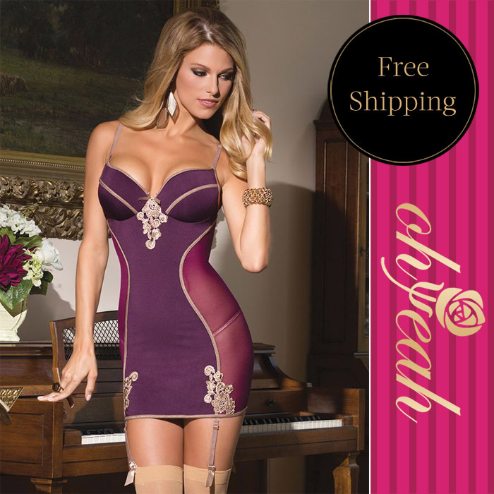 R70113High quality purple poplin sexy plus size lingerie 2015 new arrival fashion lenceria sexy hot design special sexy lingerie(China (Mainland))