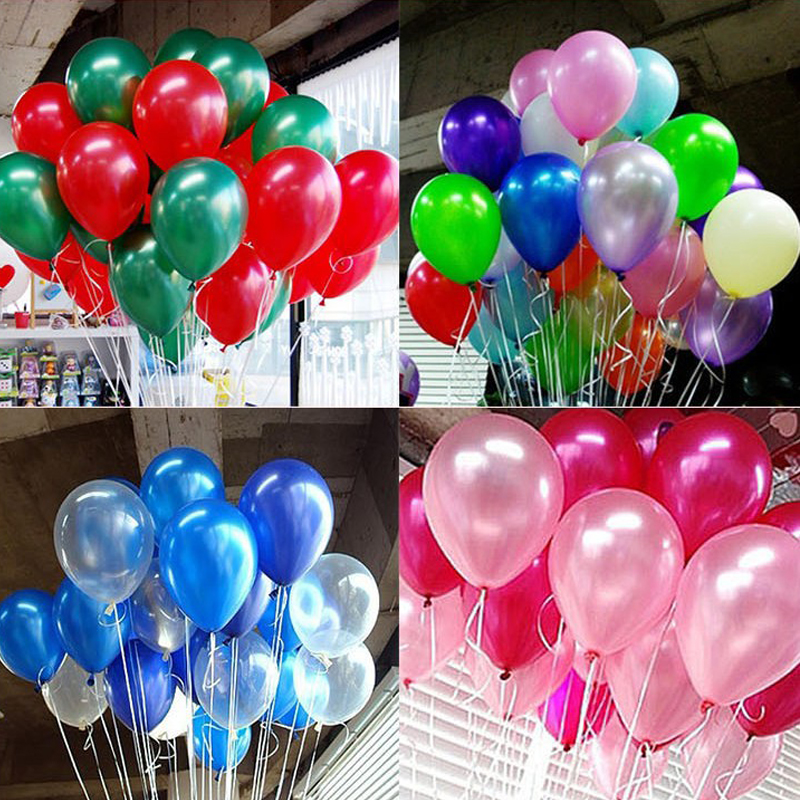 10 inch Latex Helium Party Air Balloon/Baloon Inflatable Toy Birthday/Wedding Supply Christmas Decoration(China (Mainland))