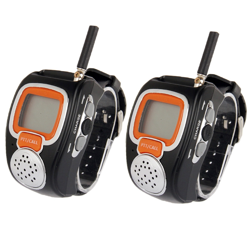 462MHz-467MHz Freetalker Watch Walkie Talkie, Up to 6km of Range, (2pcs in one packaging, the price is for 2pcs)(China (Mainland))