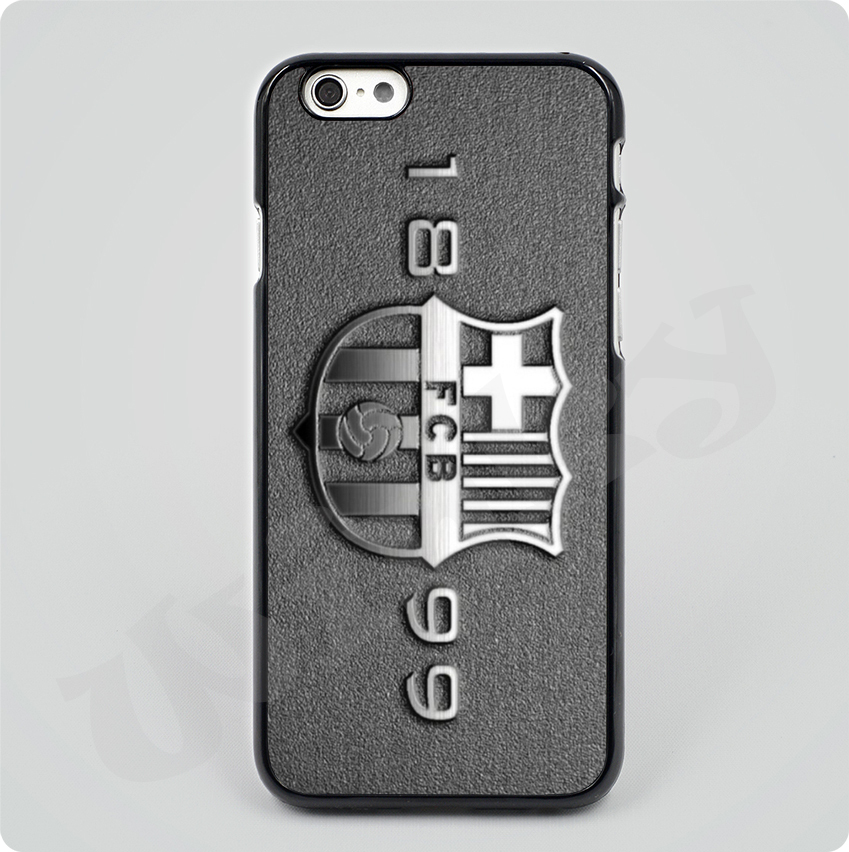 2015 new fc barcelona logo uefa champions league Black Hard Skin mobile phone Cases Cover housing For iPhone 4S 5S 5C 6 6Plus(China (Mainland))