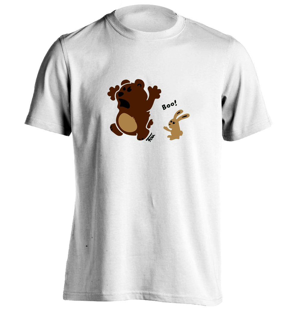 2015 Rushed New Arrival Print No Short Marvel Crossfit Bear Bunny - Colored T-shir Mens T Shirts Design Personalized Shirt(China (Mainland))