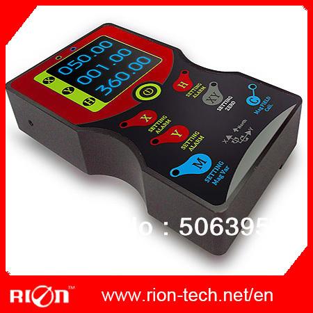 digital 3D North Finder, handhold compasses sensor,north seeker ,3D heading 360deg display(China (Mainland))
