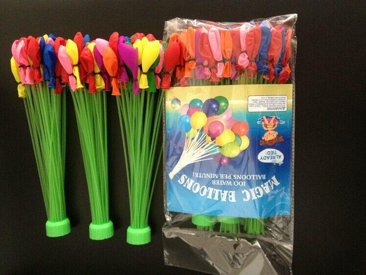 Free Shipping 3 pcs/lot 2015 Summer New Bunch O Balloon With Water Hot selling Water Balloon(China (Mainland))