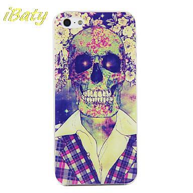 PC Skull in Suit Pattern Hard Case with Black Frame hard durable mobile phone cover for iphone 4 4s 5 5s 5c 6 6 plus(China (Mainland))