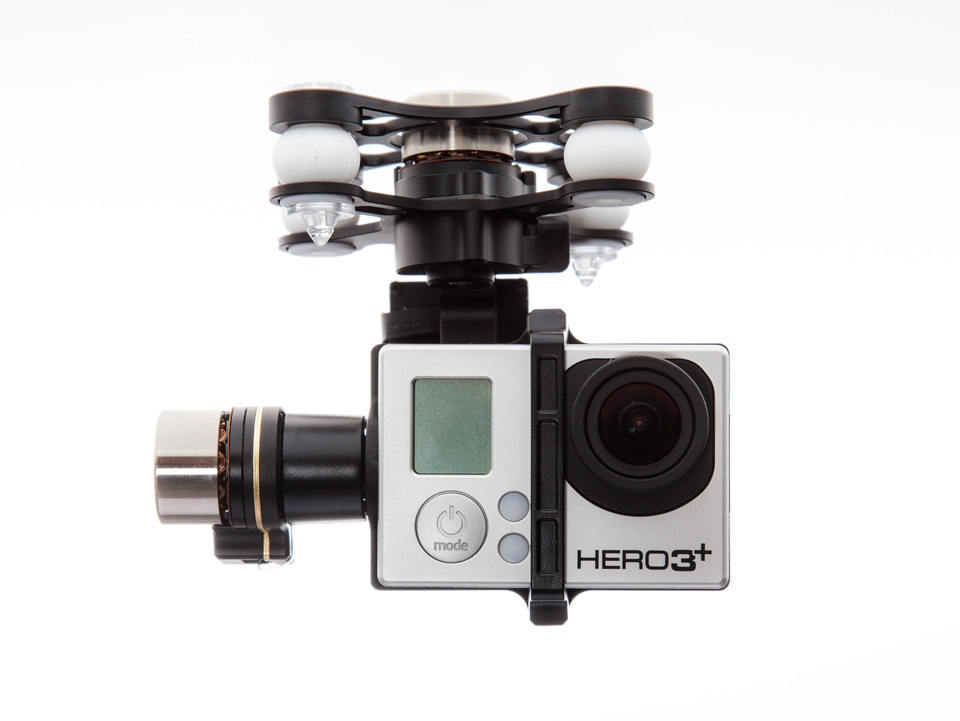 IN STICK!!! DJI Zenmuse H3-3D 3 Axis Brushless Gimbal For Gopro Hero 3 Plug And