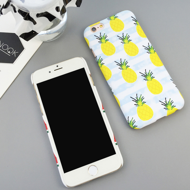 Case iPhone 5/5S/6/6S/6Plus/6SPlus Pinepple Watermelon
