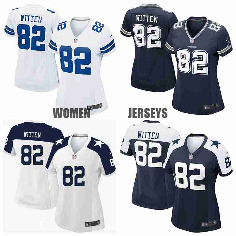 Stitiched,Dallas Cowboys #82 Jason Witten for women,camouflage(China (Mainland))
