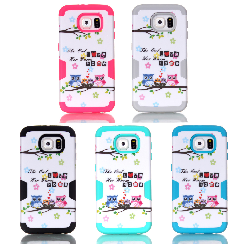 For Samsung Galaxy S7 G9300 phone cases 2016 Selling For Case Cover Mobile phone shell personalized cool home owl discount(China (Mainland))