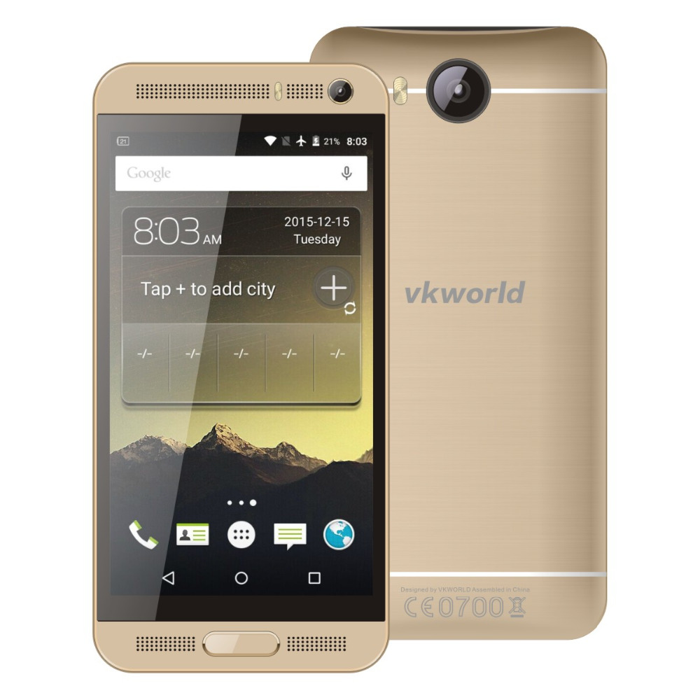 """Free Case Film VKworld VK800X Android 5.1 MTK6580 1.3Ghz Quad Core 5.0""""IPS 1GB 8GB WCDMA 3G SmartPhone(China (Mainland))"""