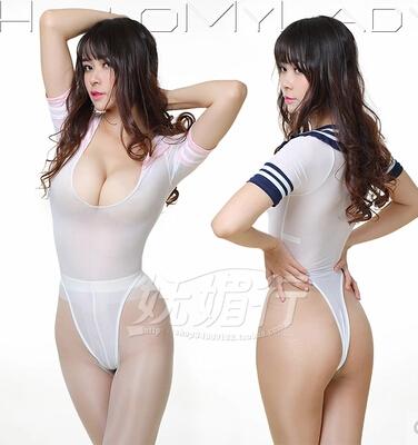 Tiny asian girls leotard