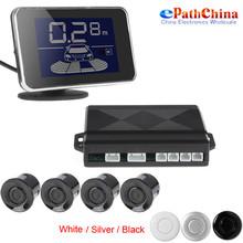 LED Display Waterproof Car Parking Assistance Sensor System kit With 4 Radar Buzzer Sensors For Reverse Backup(China (Mainland))