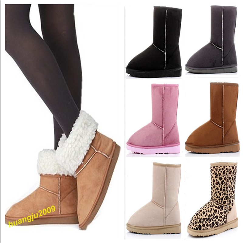 Hot Stylish Comfortable 6 Colors & 5 Size Women Winter ...