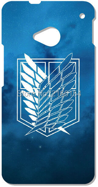 Retail Attack on Titan phone Cover For HTC one X M7 M8 M9 For Samsung Galaxy