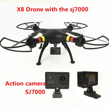 Syma X8C/X8W/X8 FPV Drone with Camera 12MP FHD 2.4G drones with camera hd 6Axis dron RC Quadcopter Helicopter Fit SJ7000 Camera(China (Mainland))