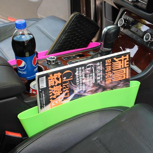 Creative Vehicle seat crack storage boxes Compressible Debris incorporated car garbage storage bins(China (Mainland))