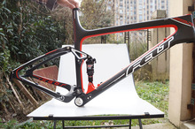 New FELT Edict Six 2 Dual Suspension Carbon Frame Rockshox RT3 rear shock 48cm 52cm(China (Mainland))