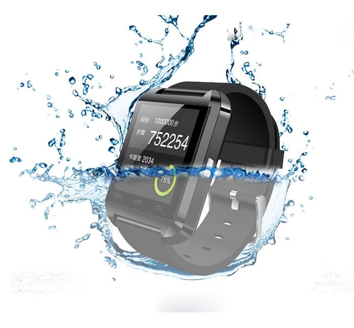 Bluetooth Smart UWatch U8 WristWatch U8 Pro Watch for LG Samsung HTC Huawei Xiaomi Android Phone Smartphones waterproof call(China (Mainland))