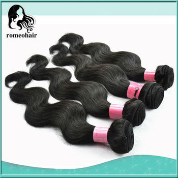 Super Retail 1pc 100%  Brazilian Virgin Hair Weave 100g/pc Remy Human Hair Weft Body Wave Free Shipping By Epacket