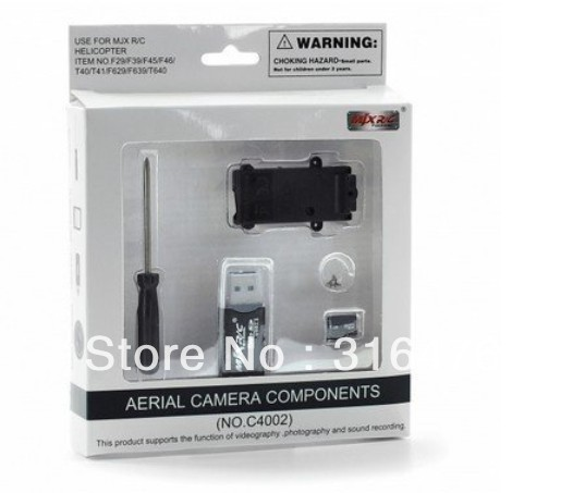 New HD Camera Components C4002 w/ Record mode & videography Aerial For MJX F45 / F29 / F39 / T40C RC helicopter + Free Shipping