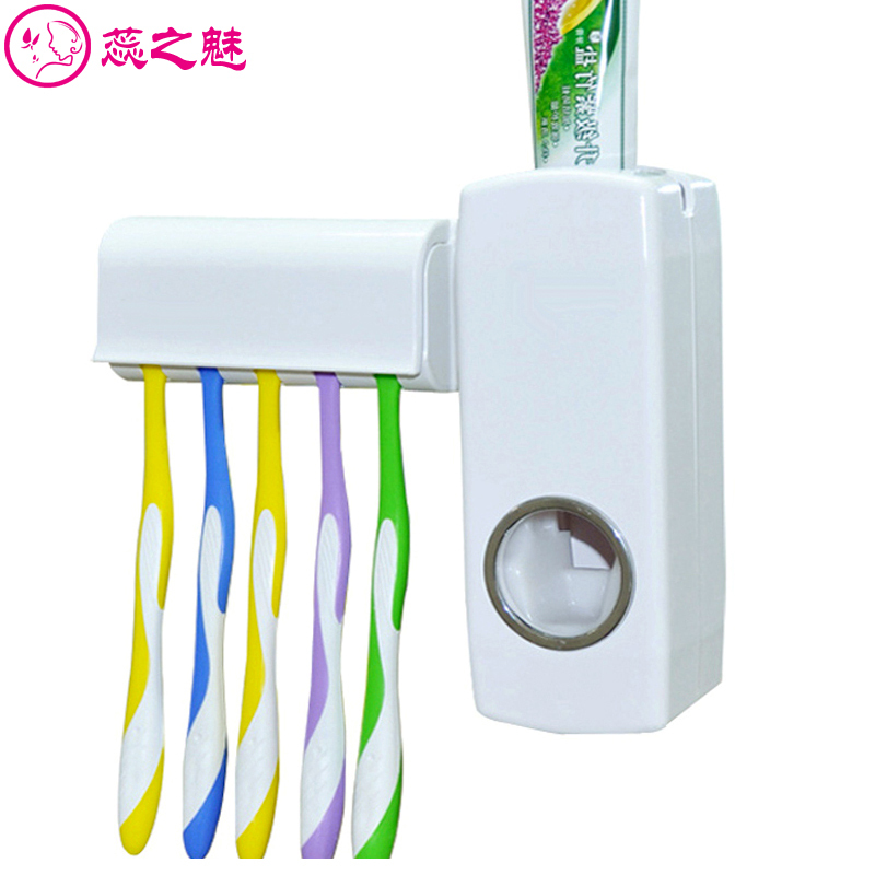Automatic toothpaste dispenser toothbrush holder for Bathroom accessories electric toothbrush holder