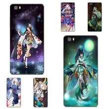 Huawei Honor 5C 7 7I Phone Case P8 P9 Lite Plus G9 Shell Mate 8 Transparent Soft Cover Silicon Onmyouji Pattern Skin - WISAP-IColorCase Store store