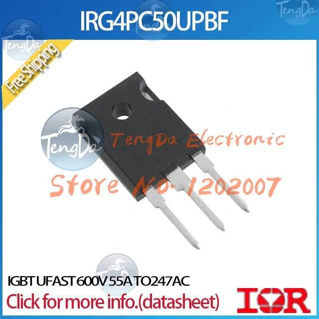 FreeShipping 3PCS/lot IRG4PC50UPBF IGBT UFAST 600V 55A TO247AC IRG4PC50UPBF(China (Mainland))