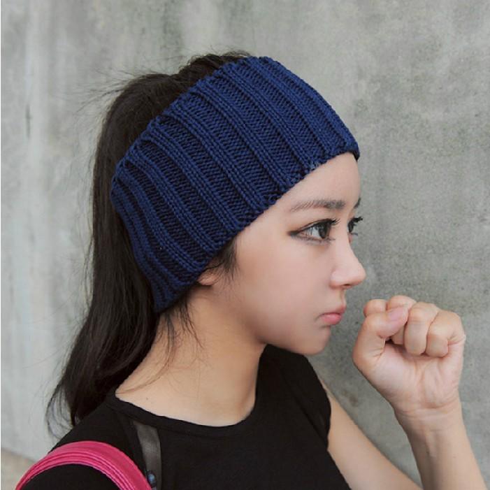 2015 winter autumn fashion women Headband wool head wear sport hair bands(China (Mainland))