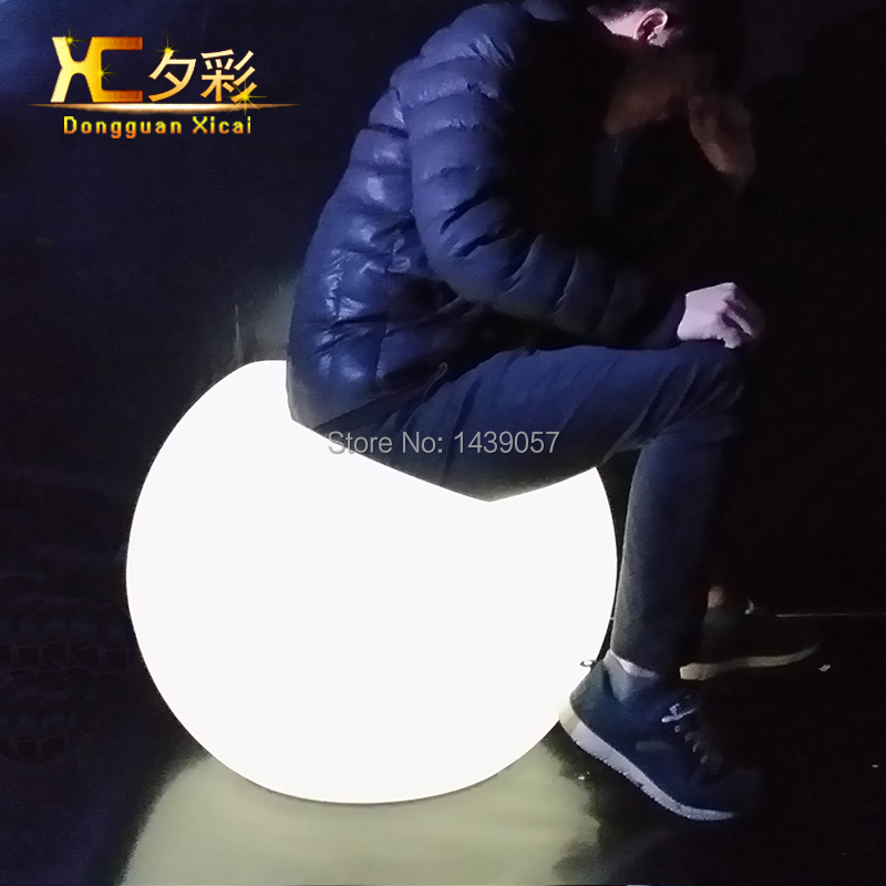 New Arrival Plastic LED Luminous Sofa Light Color Changeable  Bar Night Club Living Room Apple Couch<br><br>Aliexpress